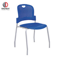 popular appearance cheap folding plastic chair with powder coating frame