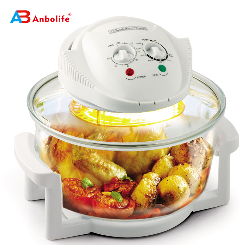 Multifunction 12 Quart 1400W digital halogen flavor wave turbo oven toaster oven electric convection oven