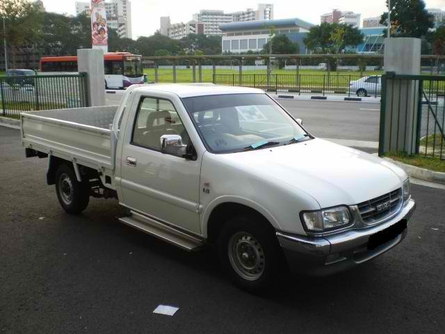 Isuzu Tfr69h Single Cabin Pick Up