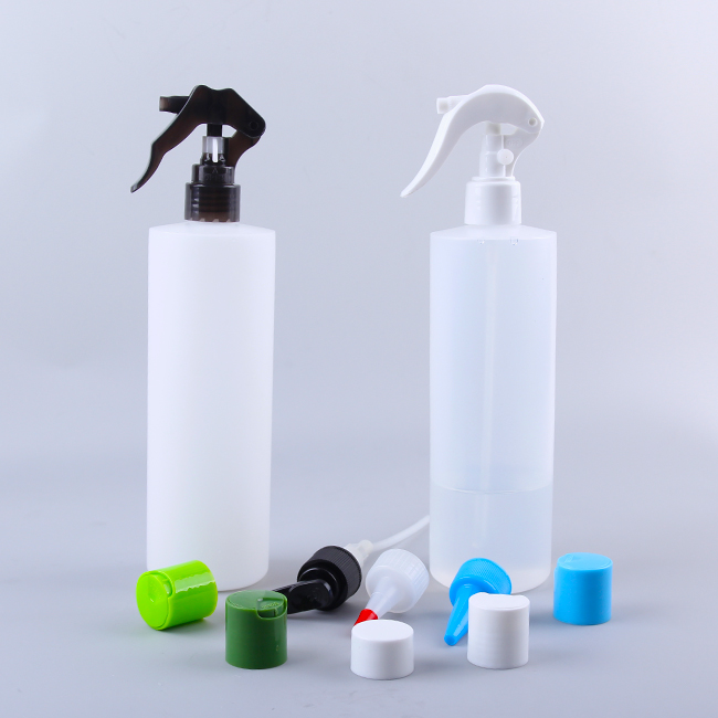 500ml HDPE Translucent Oil Lubricant Plastic Bottles