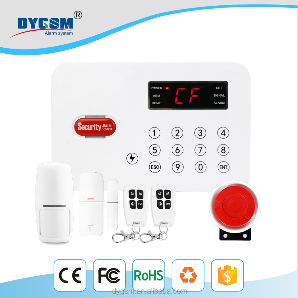 GSM DY-L1 long distance Bilingual Operating Kitchen Security Alarm Android /IOS APP, GSM detector anti-thief elderly care alarm