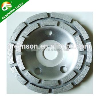 Professional Manufacturer Concrete Terrazzo Floor Grinding Diamond Cup Wheel Buy Professional Grinding Wheel Diamond Cup Wheel 5 Double Row
