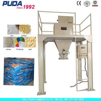 10-50kg Open Mouth Bag Chemical Fertilizer Packing Machine