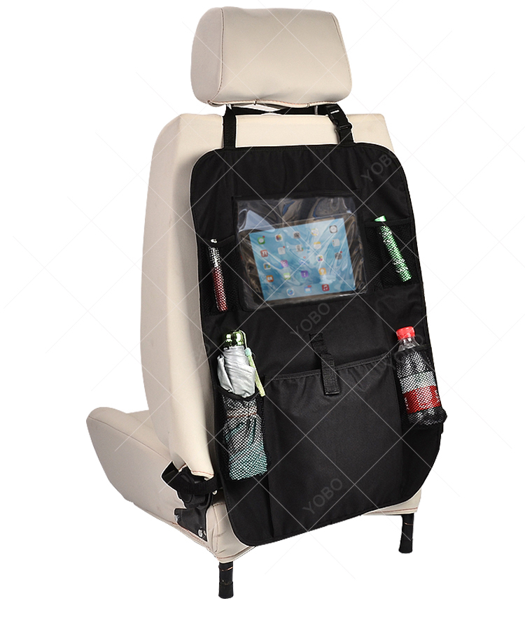 High quality car backseat travel polyester kids back seat organizer