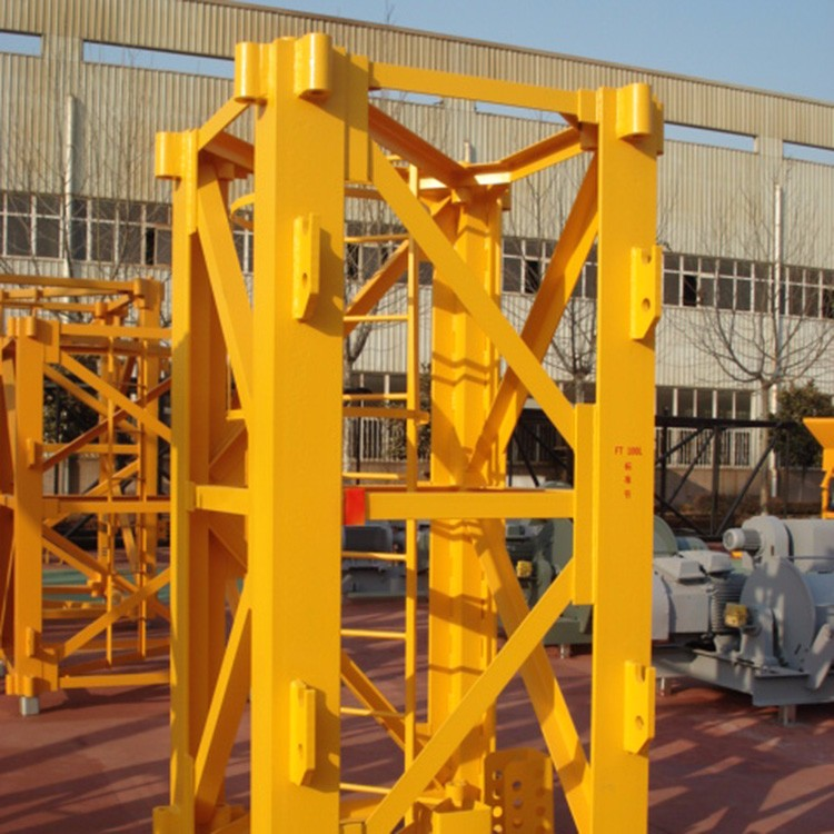 Supplier Of Construction Standard Mast Section Tower Cranes