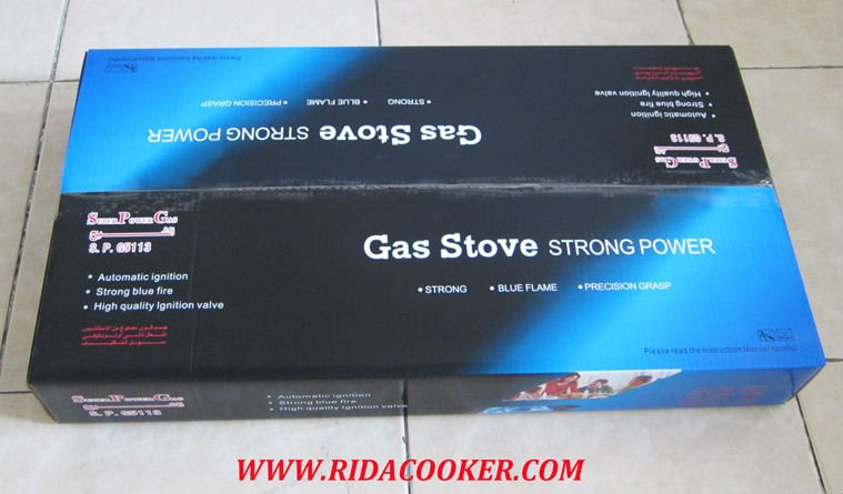 Super Power Gas Brand Export Gift Box
