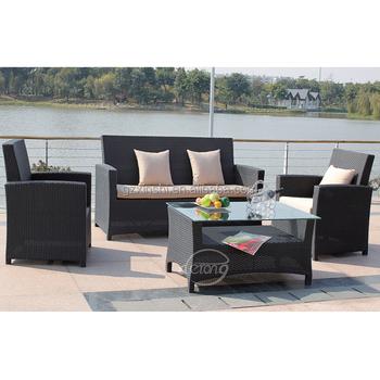 Outdoor Taobao Kunststoff Garten Sofa Einfaches Design Rattan/wicke ...