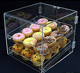 Acrylic bread display stand & bread/cake display shelf