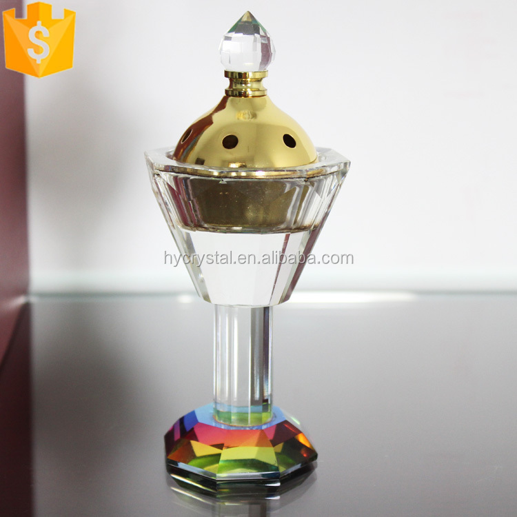 handicraft exporters crystal mubkhar incense burner