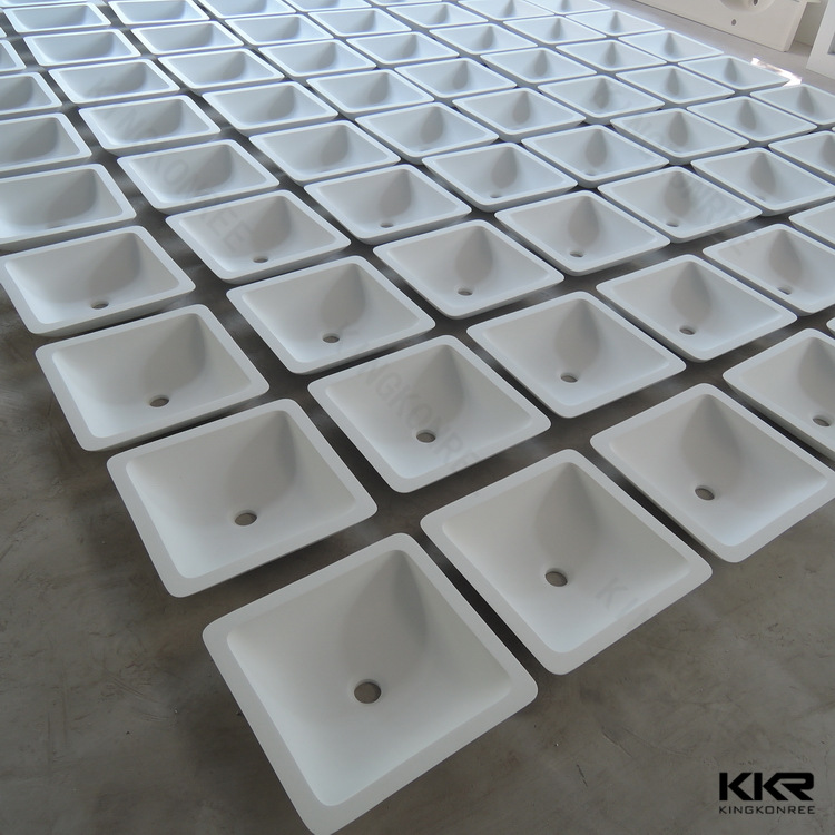 KKR bathroom trough sinks ,solid surface wash basin , bathroom sinks vanities
