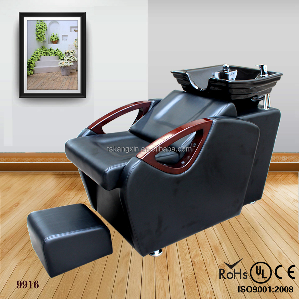 Used beauty salon furniture hair salon chair shampoo chair for sale9916