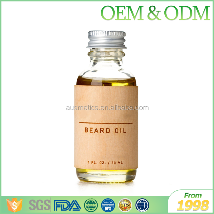 Free sample private label fragrance pure beard oil skin care oem beard oil