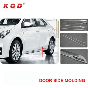 Toyota Corolla Accessories >> 2017 Auto Chrome Car Decoration Accessories Body Kit Cladding Car