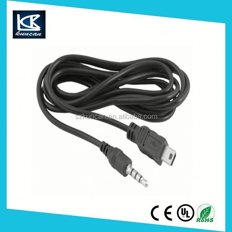 mini usb 5p plug to usb 2.0 am usb cable for charging and data transfer
