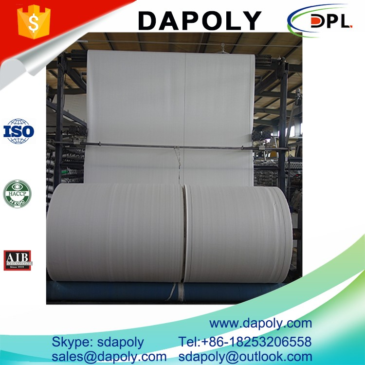 Quality Certification Durable Direct Deal Pp Woven Tubular Cloth In Roll For Food/Agriculture