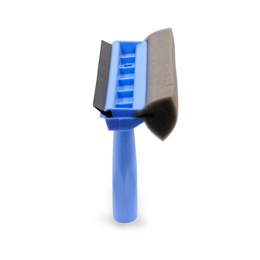 Eco-Friendly Plastic window cleaning 2 in 1 brush clean For Bathroom Window