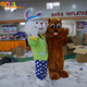 Factory Price adult plush animal costume/adult cartoon animal for sale
