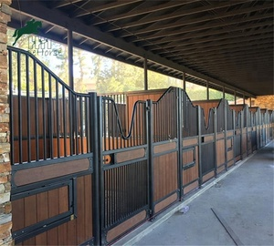 Horse Stable Barn Stalls with Bamboo Panel