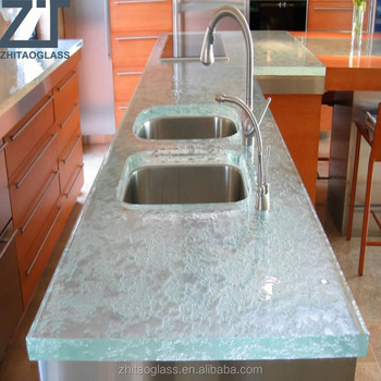 Dinning table set kitchen island glass used counter design counter tops manufacturers