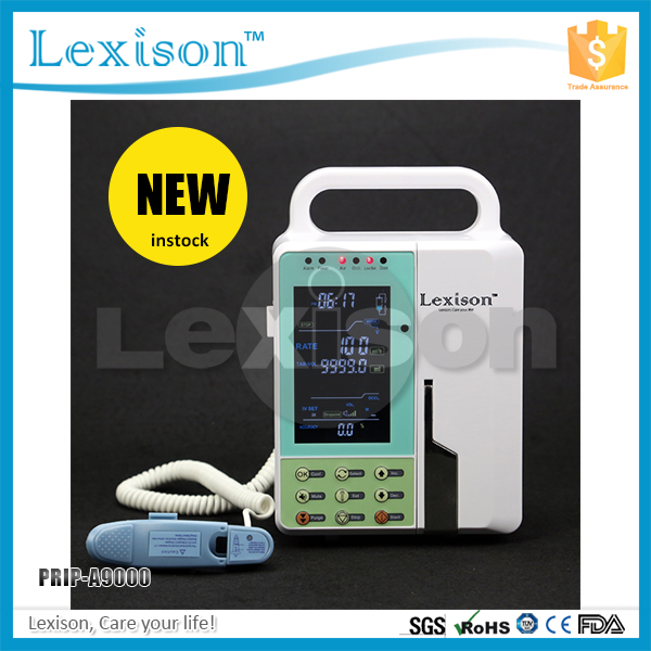 Medical Drip type Infusion Pump, Portable Infusion Pump on sale