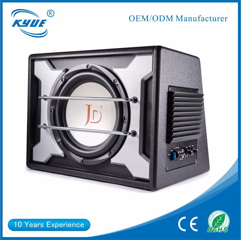 "China manufacturer OEM/ODM high power new JD-101D 10"" RMS 600 watts OEM car speaker audio subwoofer"
