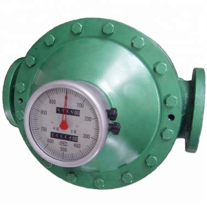 LC100 CAST IRON OVAL GEAR METER High PRECISION FOR LARGE OUTPUT PUMP