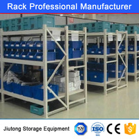 Heavy Duty Selective Plastic Box Storage Bins Racking with ISO9001 and CE Certificate