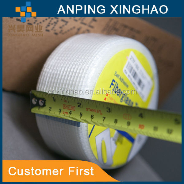 2015 drywall joint fiberglass mesh tape factory in anping