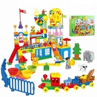 Fantasy happy valley 230pcs ABS plastic building blocks toys gift with duplo legoing