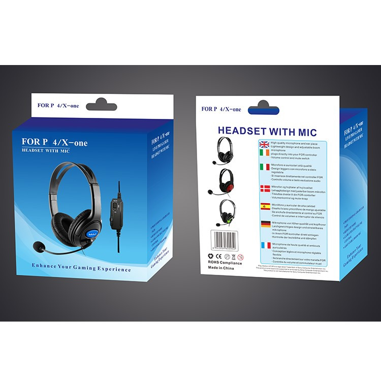 Best Headset Gaming Headphones With Microphone Wired Headphone For P4 X-on - Buy Gaming Headset,Gaming Headphone,Gamer Computer Headphone Product on Alibaba.com