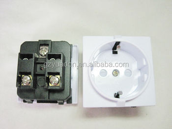 Germany Power Socket Korea Wiring Receptacle Power Outlet