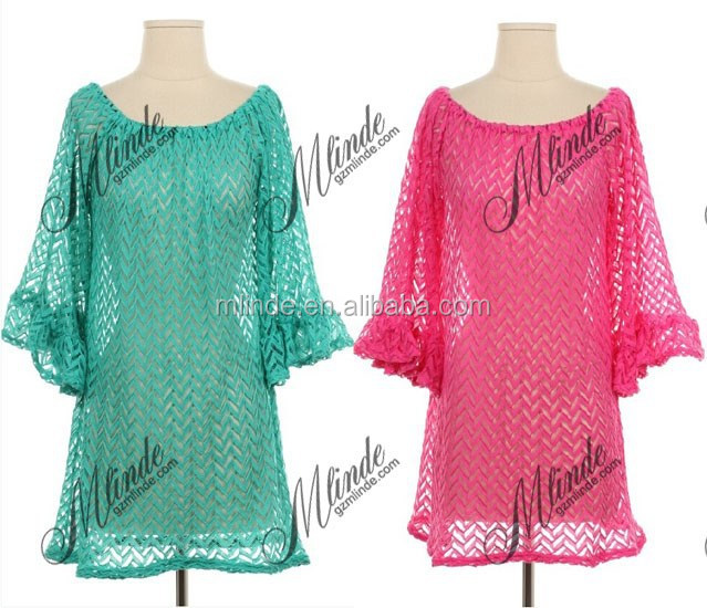 beach tunics women china summer cotton crochet lady beach tunics tops