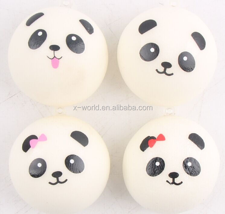 High Quality 7cm Kawaii Jumbo Panda Squishy Charms Buns Bread Cell Phone Key/bag Strap Pendant Squishes Bag Accessories To Enjoy High Reputation In The International Market Luggage & Bags