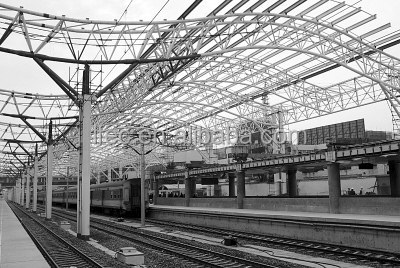 Railway Station Steel Structure Roof Truss Space Frame
