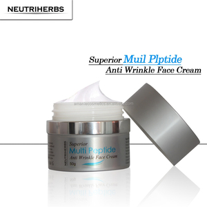 New china products for sale anti-aging cream matrixyl 3000 multi peptide face good Silk protein quick beauty cream