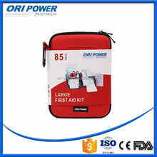 OP manufacture FDA CE ISO approved promotional red EVA car roadside emergency kit