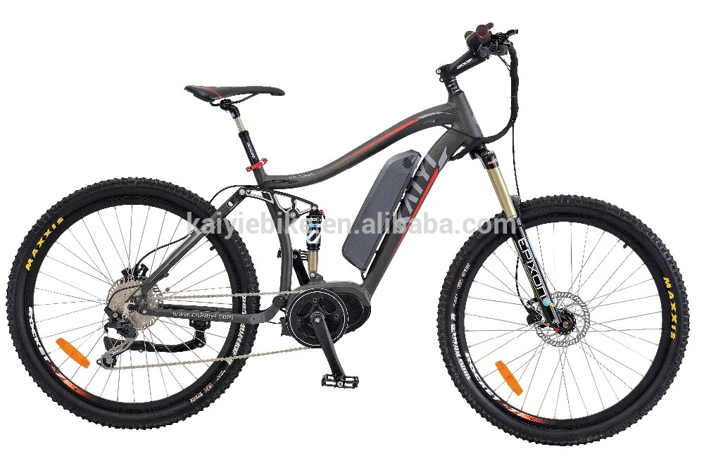 haibike 36V250W 8 FUN Rear drive full suspension electric mountain <strong>bike</strong>