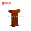 Classic wooden speech table/lecture table/podium/rostrum(FOH-J07)