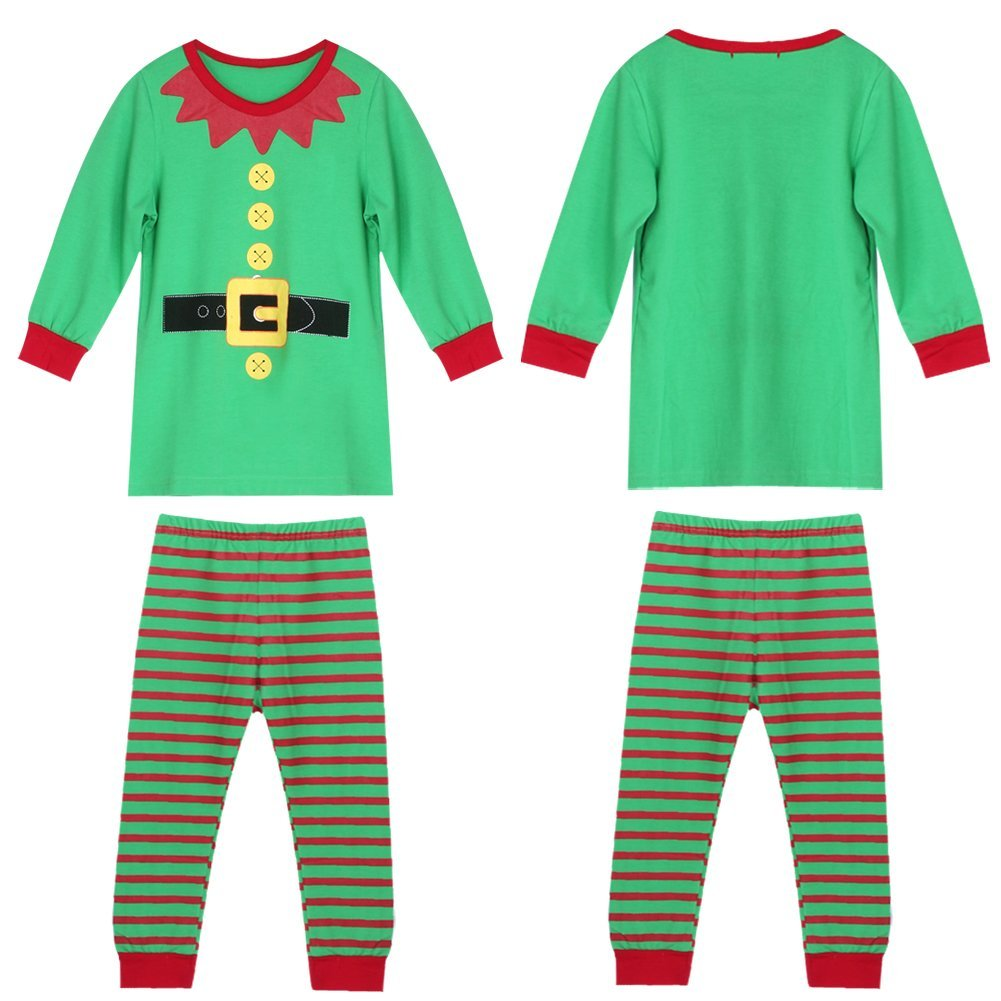 21dc3666e Get Quotations · Diamondo Christmas Santa Claus Kid Clothes Toddlers Suit  Baby Boys Girls Clothes Set (for 3