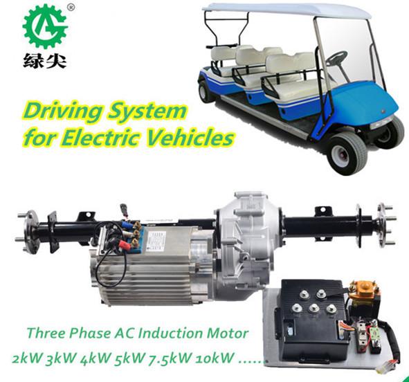 Kw Wheel Drive Electric Golf Cart Buy Cheap Body