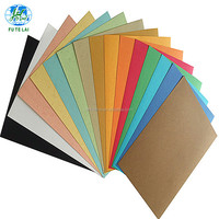A4 230gsm leather grain paper binding cover embossed paper