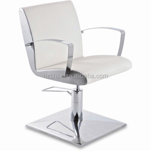 2015 trend haar salon kapper stoelen met duurzame kwaliteit sneeuw witte salon stoelen te koop - Witte kapper ...