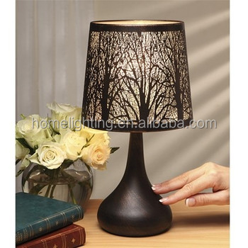 Attrayant JL 132 Black Color Tree Design Touch Table Lamps Modern Beside Touch  Sensitive Led Table