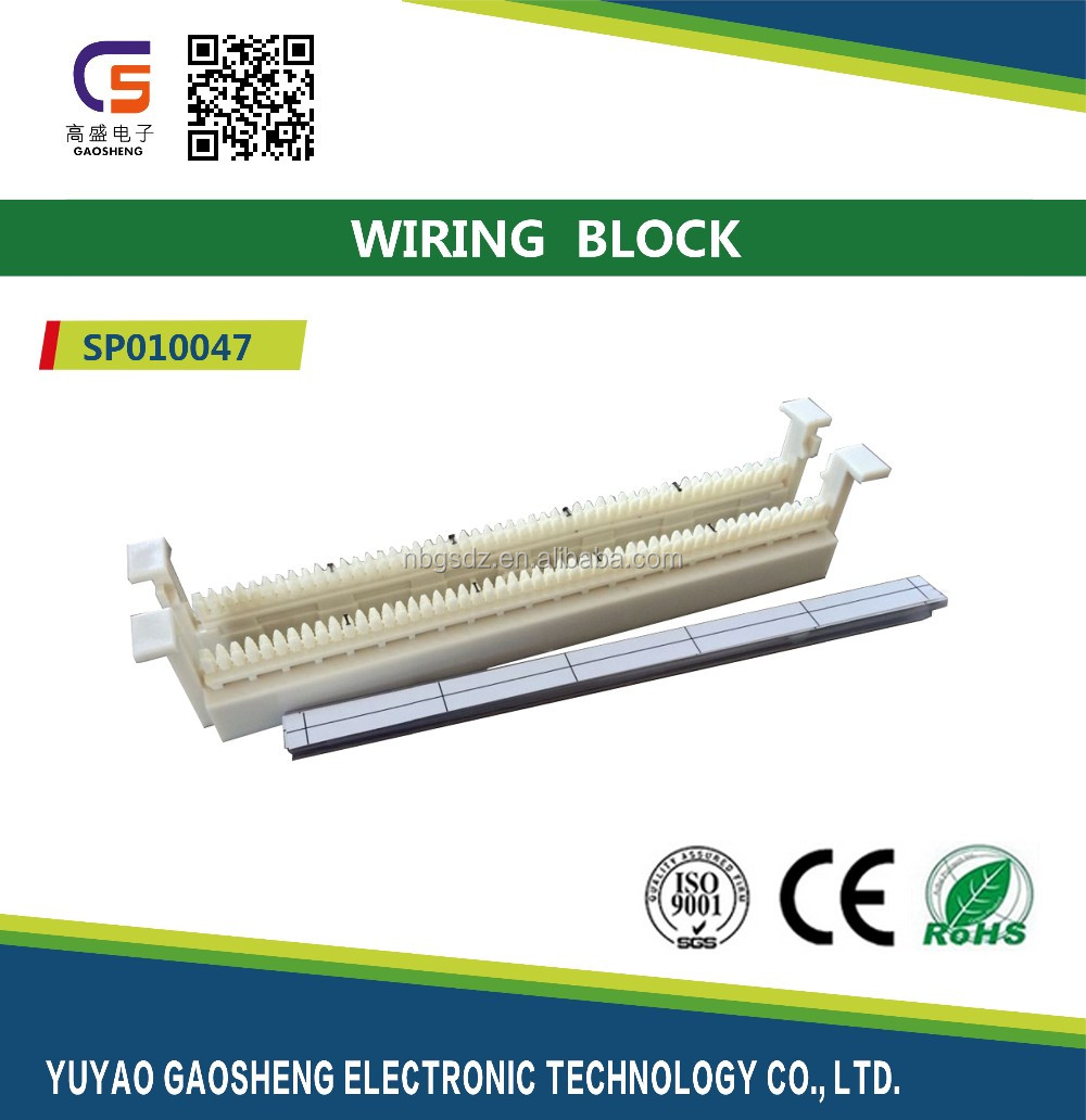 50 Pairs 110 Block Patch Panel Rj45 Buy Wiring Telephone To Rj 45 Panelbnc Paneltelephone Product On