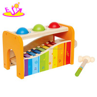 hottest baby wooden music instrument for education W07C038