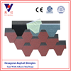 Asian Red Hexagonal Asphalt Shingle/Shingle