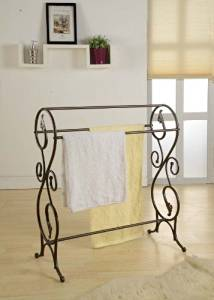 Generic YZ_732838YZ_7 Rack Holder e Towel Stand Blanket and Bl Bathroom Laundry Cloth Antique Style Towel ying B Clothes Drying YZ_US7_160510_1980
