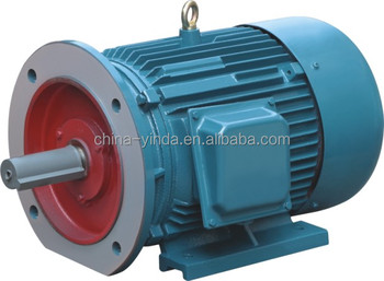 Y series three phase asynchronous ac electric motor for Types of electric motors