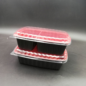 Microwave disposable plastic storage food /lunch take away container/boxes