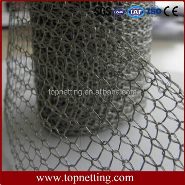 Oil Demister Knitted Stainless Steel Wire Mesh/Knitted Wire Mesh
